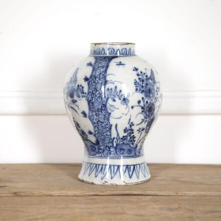 Dutch 18th Century Delft Vase DA9916487