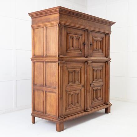 Dutch 18th Century Oak Cabinet CU0616054