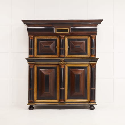 18th Century Dutch Rosewood and Oak Cabinet CU069570