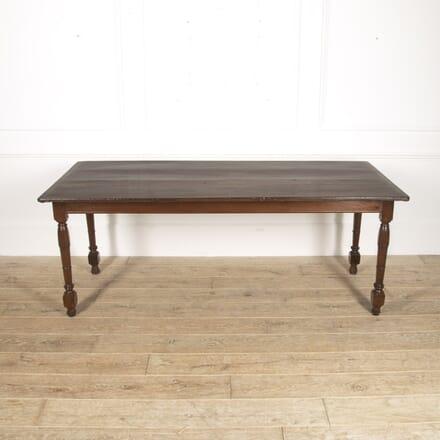 English 18th Century Oak Farmhouse Table TD8815683