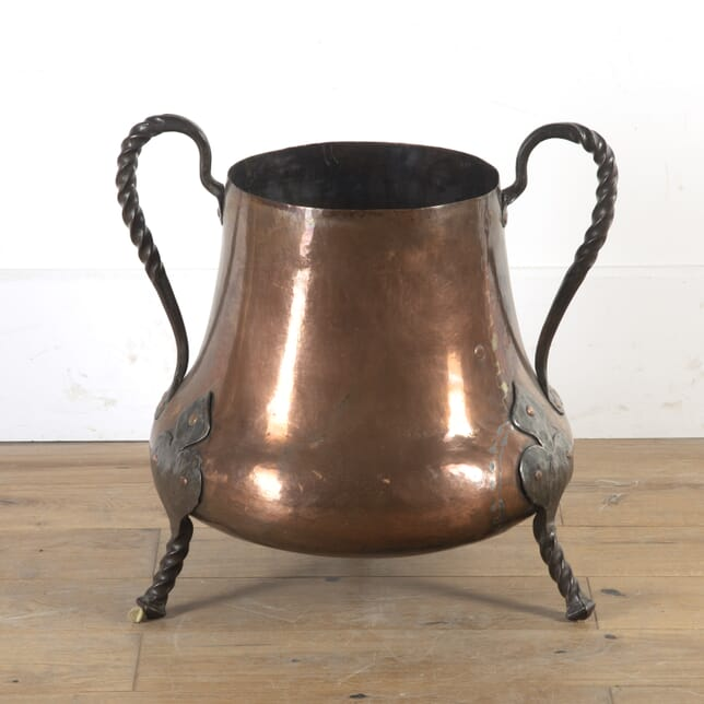 French 18th Century Copper Bucket DA4714896
