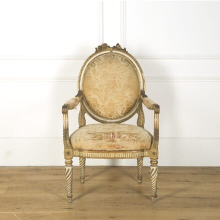 18th Century French Fauteuil CH749403