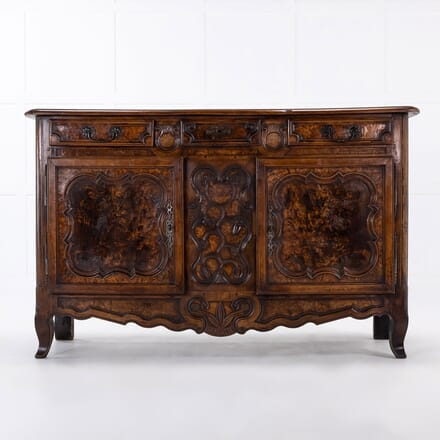18th Century French Fruitwood and Burr Ash Buffet BU068933