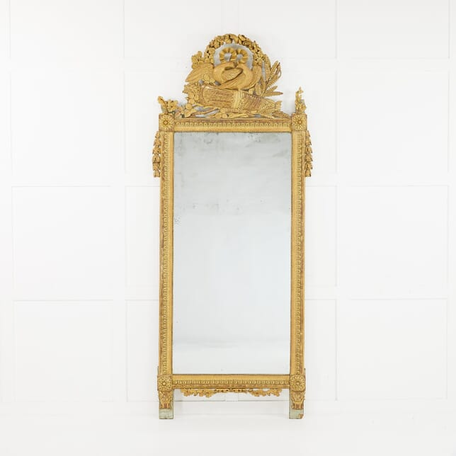 18th Century French Gilded Mirror MI0610180