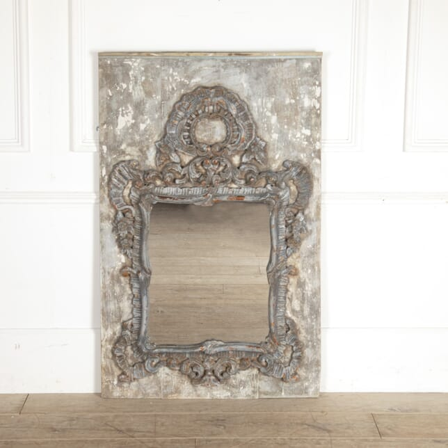18th Century French Mirror on Mount MI7513644