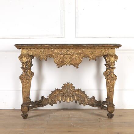 Italian 18th Century Giltwood Table CO0316027