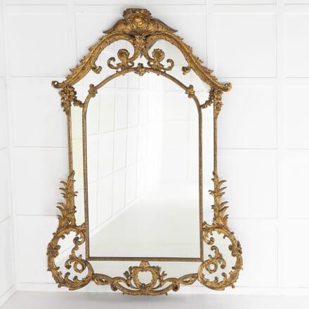 18th Century Italian Gilt Mirror MI0610886