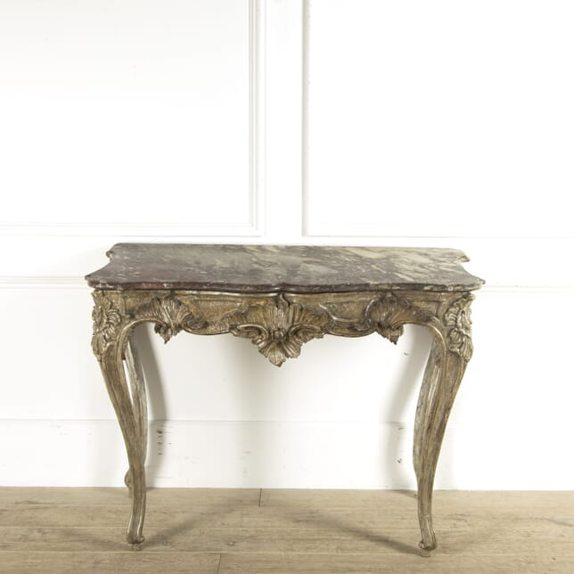 18th Century Italian Silvered Console Table CO4110240