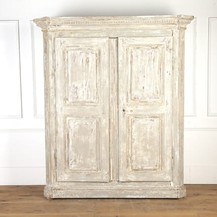 French 18th Century Painted Armoire CU7516706
