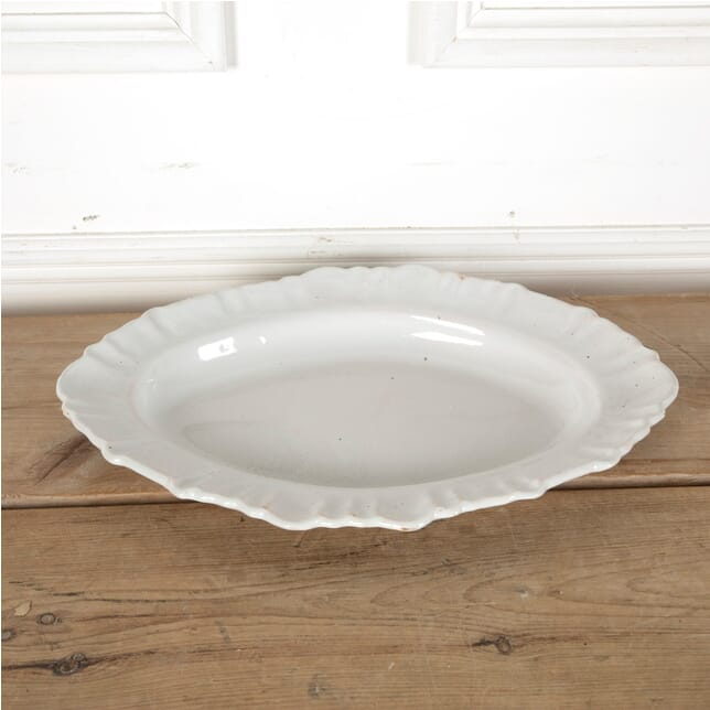 18th Century Oval Glazed Platter DA7511473