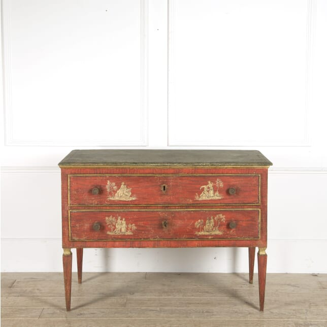 18th Century Painted Italian Commode CC059951