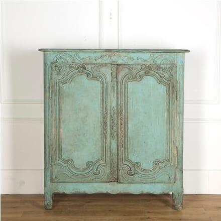 18th Century Petite Painted Armoire CU439830