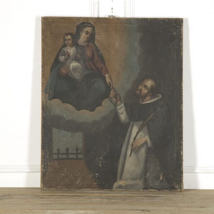 18th Century Religious Painting WD759307