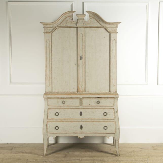 18th Century Rococo Swedish Cabinet CU609302