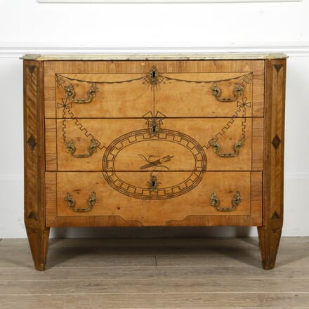 18th Century Rosewood Inlaid Commode CC5117380