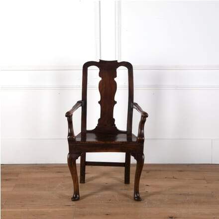 18th Century Rustic Walnut Armchair CH6810752
