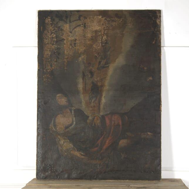 18th Century Spanish Canvas WD7510084