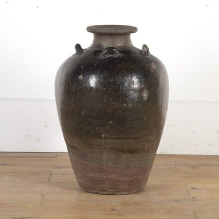 18th Century Stoneware Jar from Cambodia DA9016114