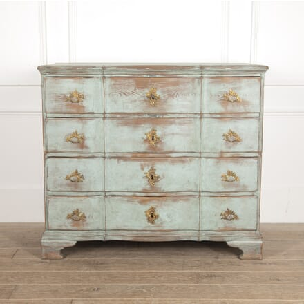 Swedish 18th Century Baroque Chest CC6014669