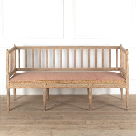 18th Century Swedish Stick Back Sofa SB6011294