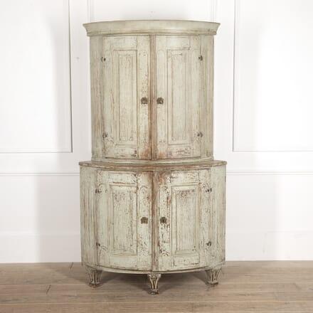 18th Century Swedish Corner Cabinet DA6014680