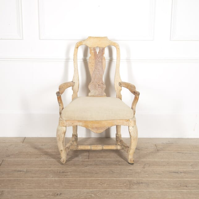 Swedish 18th Century Rococo Armchair SB6014674