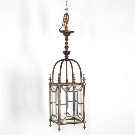 19th Century Leaded Bevelled Glass Lantern LL2111227