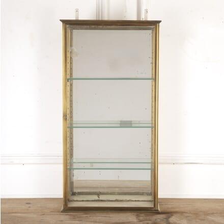 French 1930s Brass and Glass Vitrine BK2816384