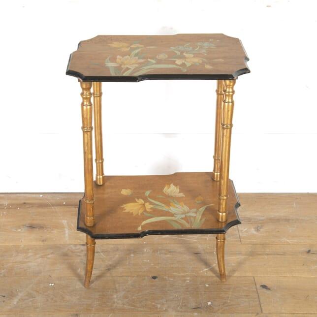 Dutch 1930s Gilt Side Table CO5916452