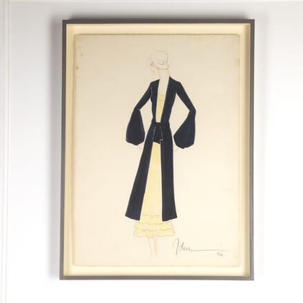 1930s Fashion Designs by John Guida WD7615865
