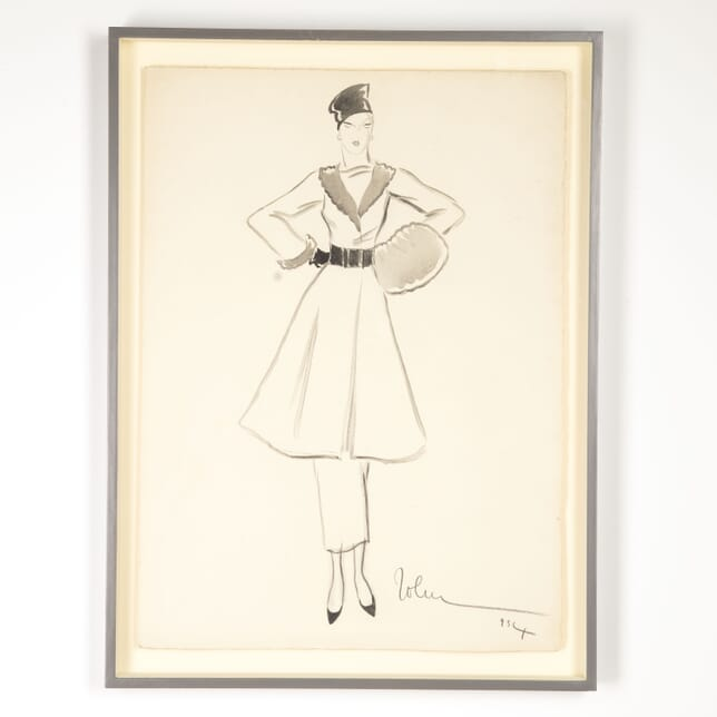 1930s Fashion Designs by John Guida WD7612795