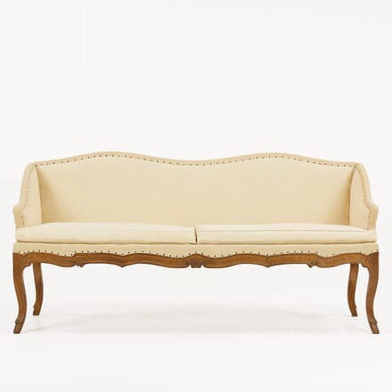 1930s French Carved Oak Sofa SB069908