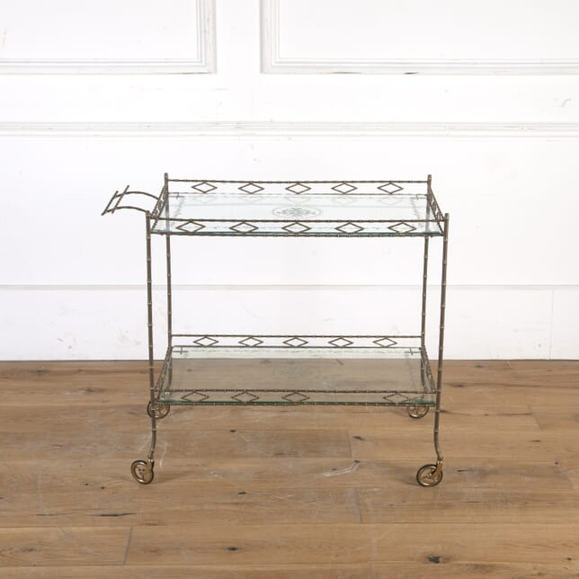 1930s French Faux Bamboo Drinks Trolley TS5914238
