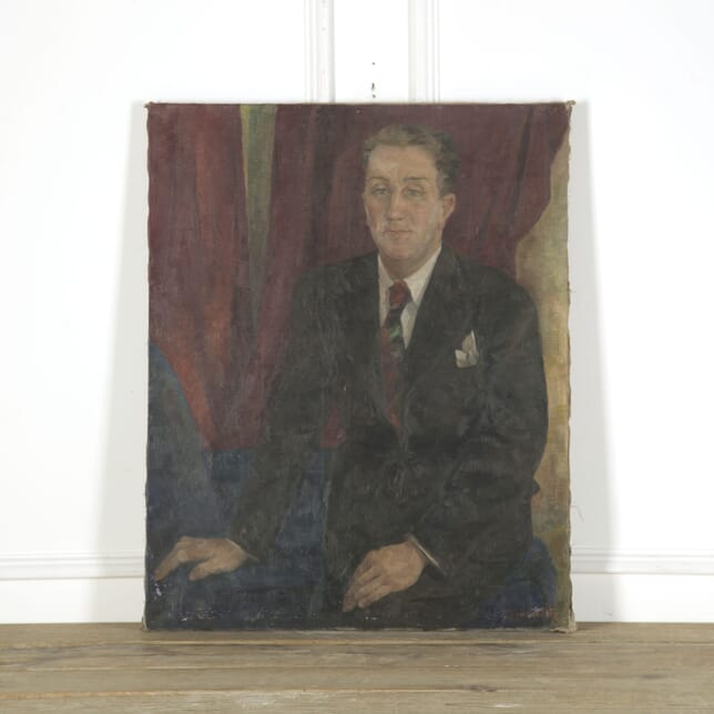 1930s Portrait of Monsieur D WD759305