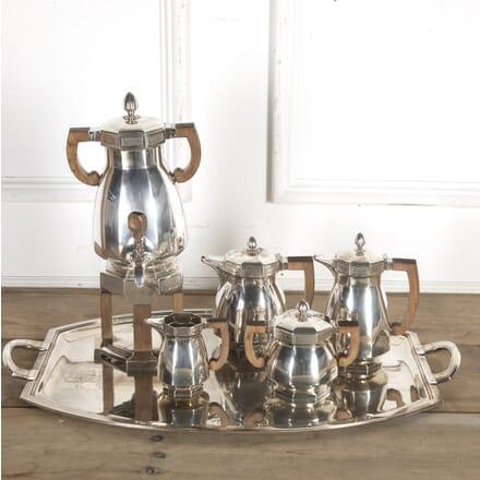 French Art Deco Silver Coffee and Tea Service DA8715693
