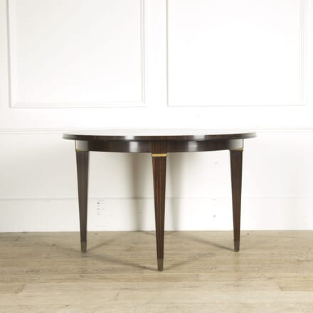 1950s French Macassar Ebony Centre Table TC019374