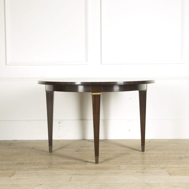 1950s French Macassar Ebony Centre Table TC019374