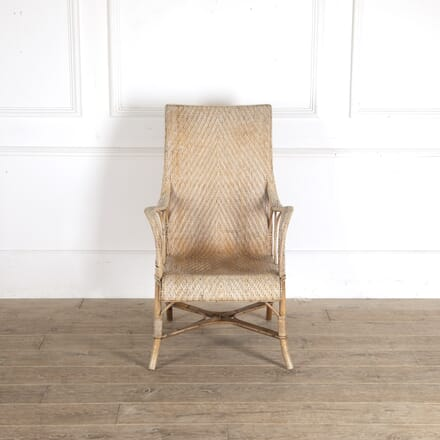 1950s French Wicker Armchair CH2913557