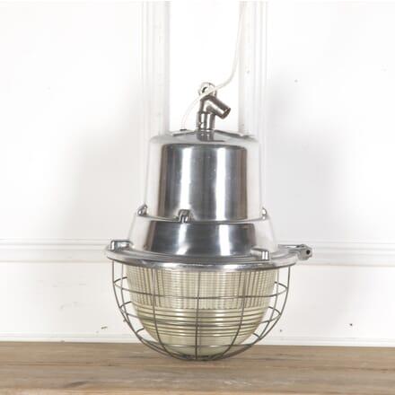1950s German Holophane Cage Light LC5355993