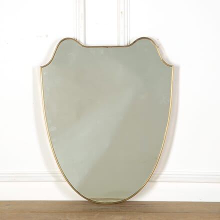 1950s Italian Shield Mirror MI639000