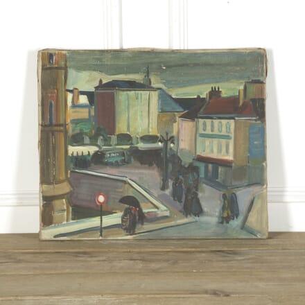 1950s Parisian Scene WD759306