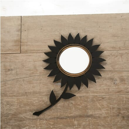 1950s Sunflower Mirror by Chaty Vallauris MI3010555