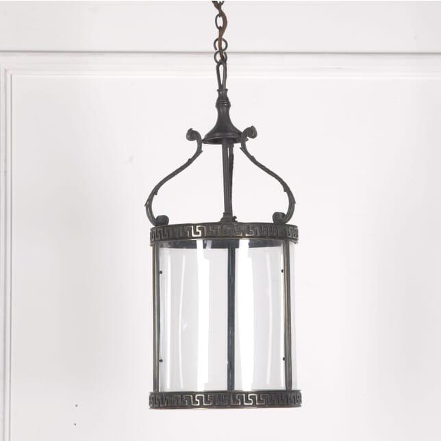 1960s Bronzed Hall Lantern LL3610311