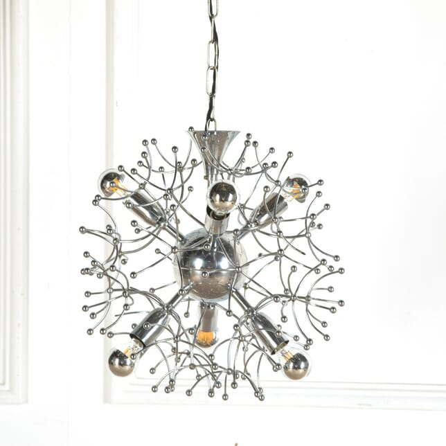 1960s Chrome Sputnik Light by Gaetano Sciolari LC2110758