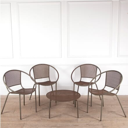1960s French Industrial Style Terrace Set GA2911288