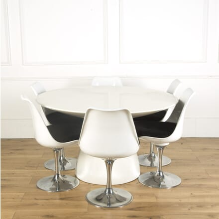 1960s Tulip Table and Chairs CD539608