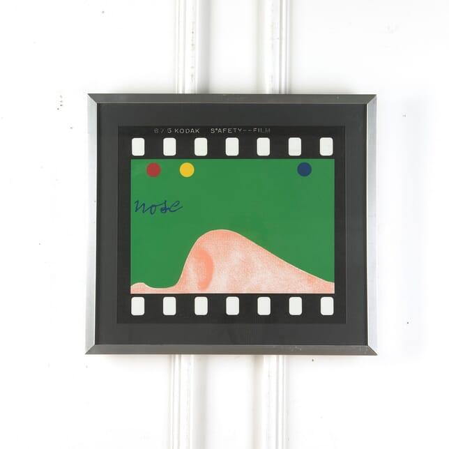 1968 Nose Screen Print by Joe Tilson WD5710549