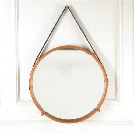 1970s Circular Teak Mirror MI2910559