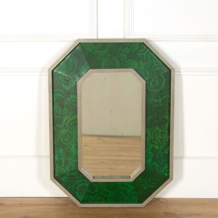 1970s French Mirror Designed by Jean Claude Mahey MI579052