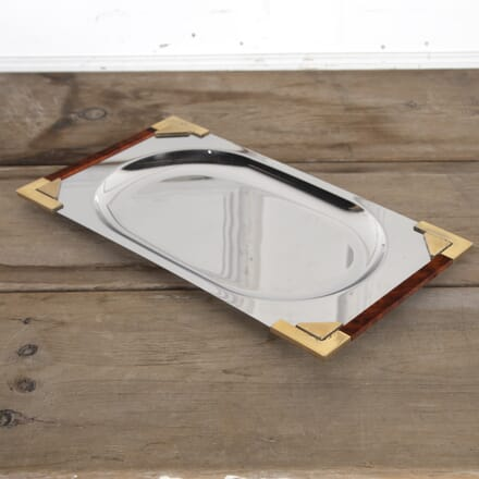 1970s French Tortoise Lacquered Tray DA5815463